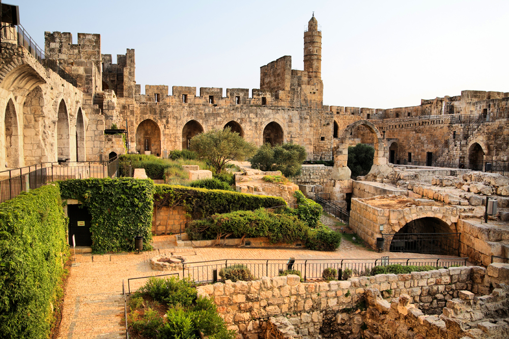 Inside Tower of David, Jerusalem, Israel. Photograph by Noam Chen.