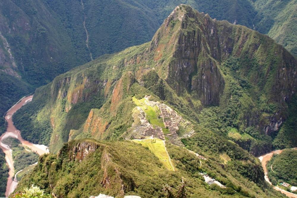 Citadel, Huayna Picchu, Machu Picchu Mountain, Peru