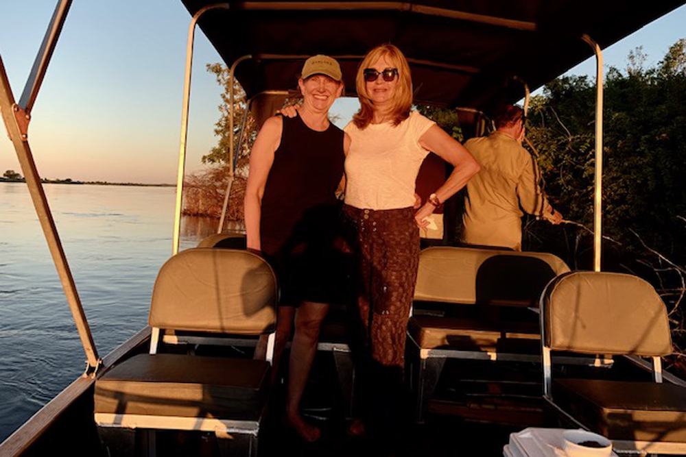 Deborah Wente and Cherri Briggs