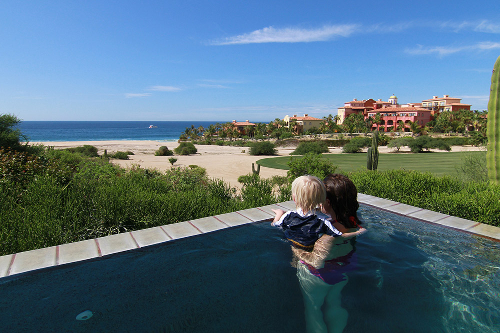 The view at Villa Miguel, Cabo, Mexico