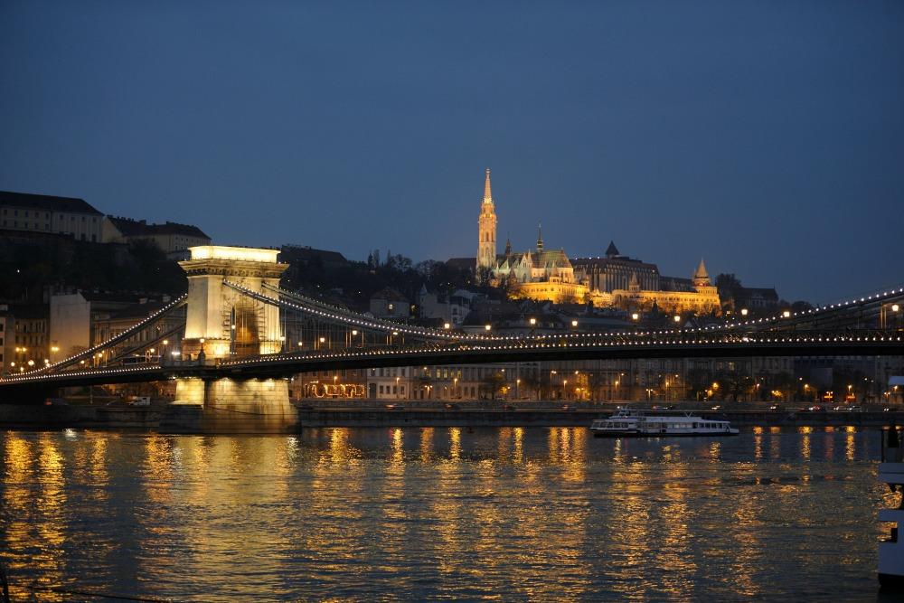 Budapest's Chain Bridge
