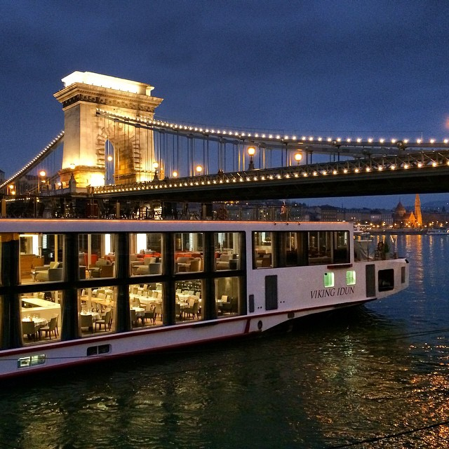 Viking river cruise on the Danube