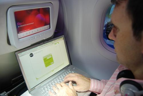 Virgin America Wi-fi