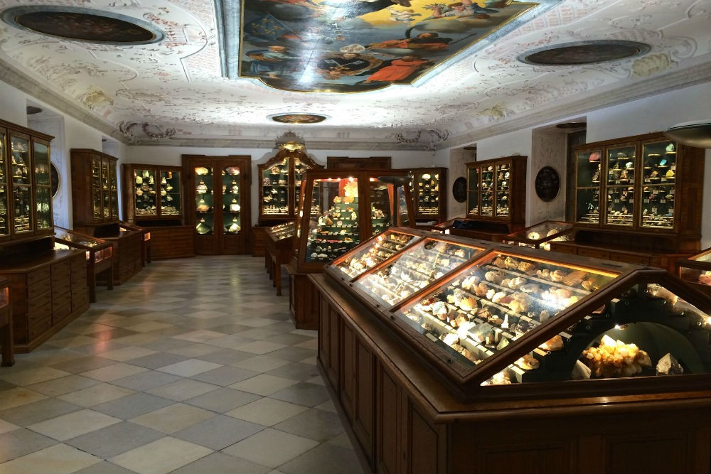 Melk Abbey's Minerals Collection