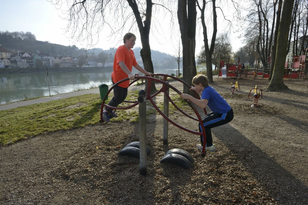 Playground in Passau
