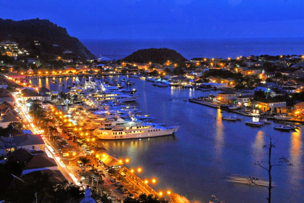 St. Barts After Sunset