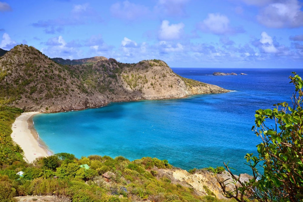 Beautiful Bay in St. Barts