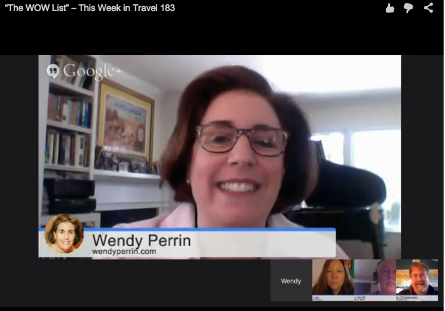 Wendy This Week in Travel Podcast Screengrab2