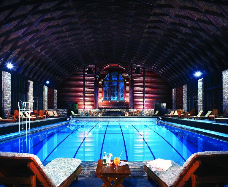 The Fairmont Montebello, Quebec, Canada hotel pool