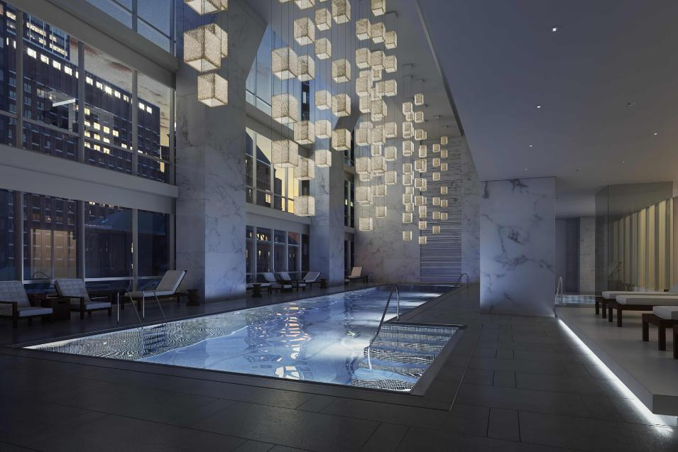 The Park Hyatt, New York City hotel pool