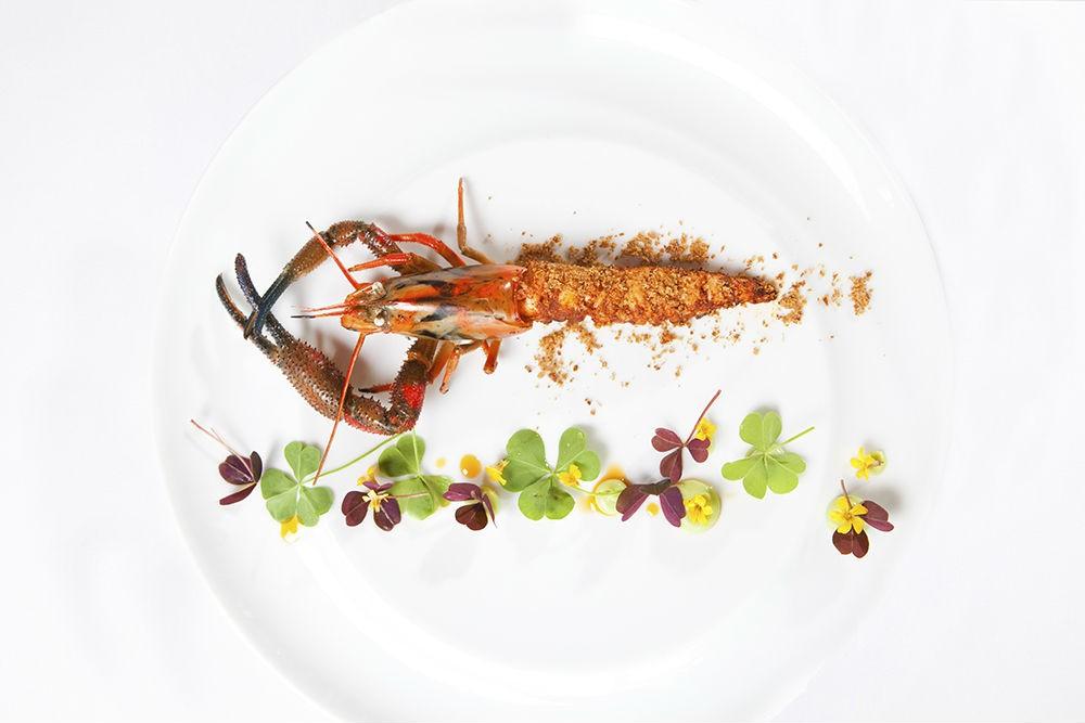River shrimp at Central Restaurant, Lima