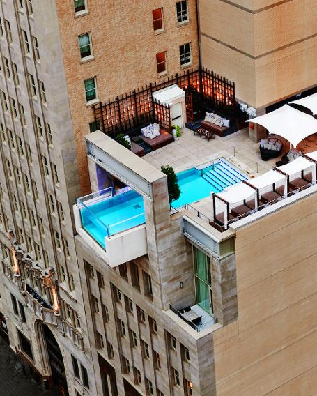The Joule, Dallas hotel pool