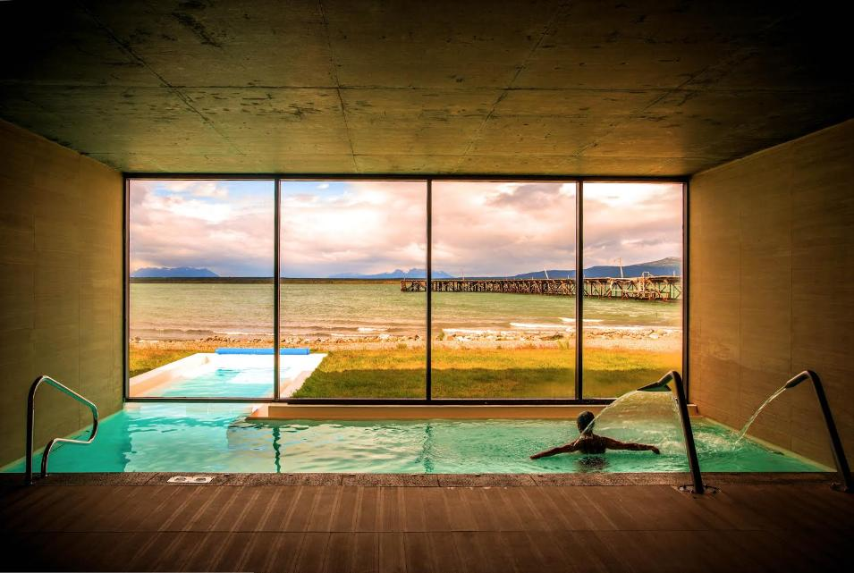 The Singular, Patagonia, Chile hotel pool