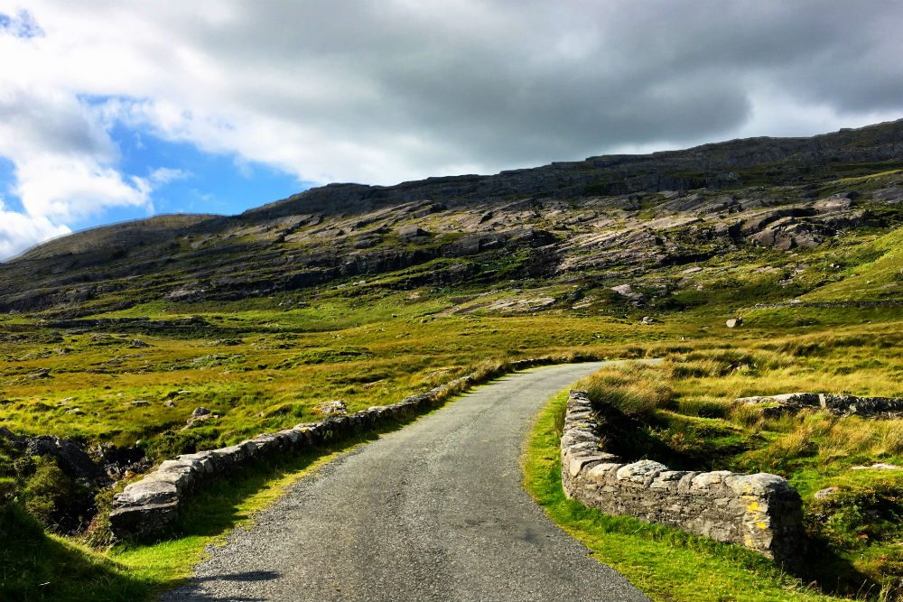road and landscape of Beara Peninsula, Ireland
