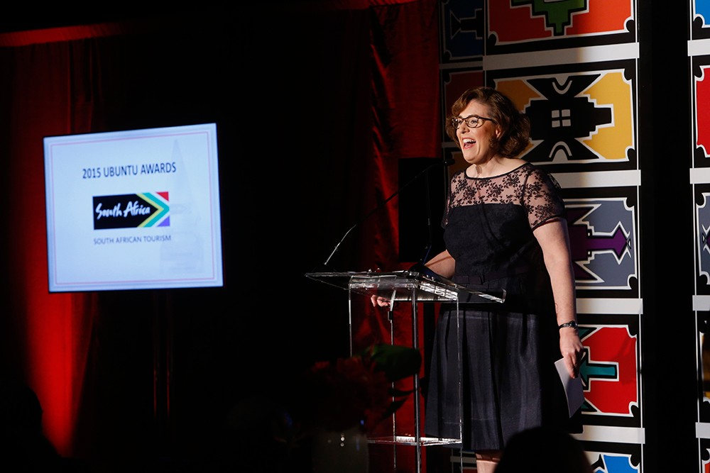 Wendy Perrin South African Tourism's Ubuntu Awards