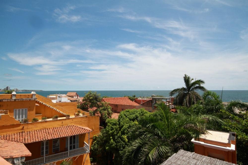 Rooftops in Cartagena