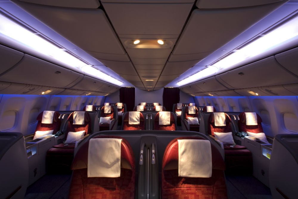 Qatar Airways seat configuration
