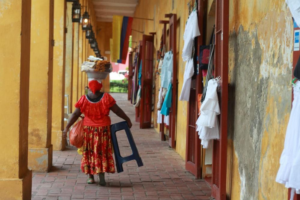 La Boveda, Cartagena, Colombia.