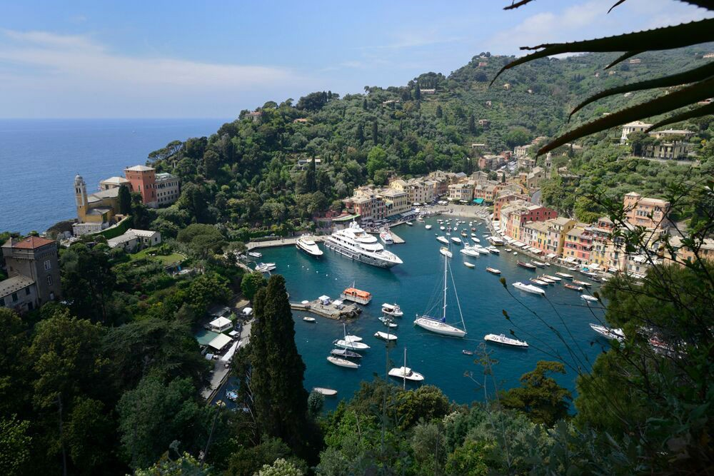 Portofino, Italy—one of those ports that only smaller ships can get close to.