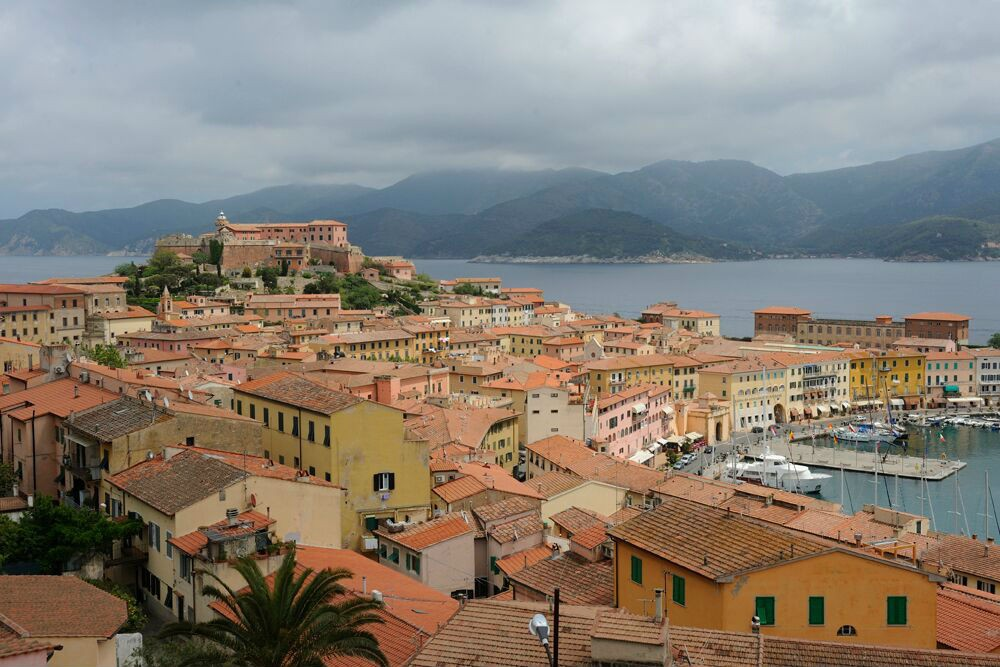 Portoferraio, Elba: Only small ships can dock here.