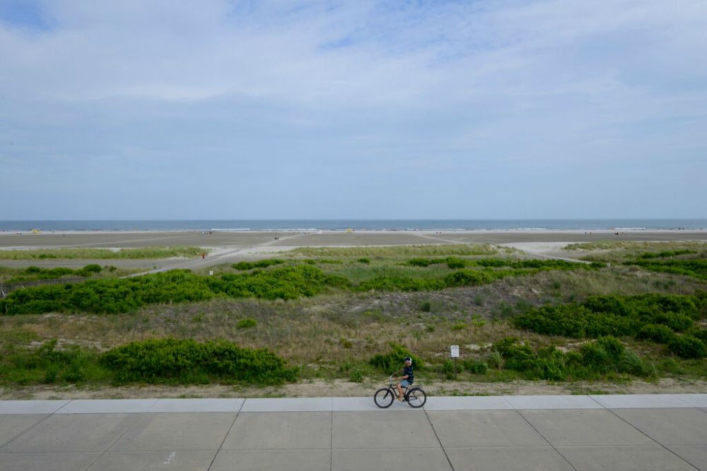 Biking in Wildwood Crest
