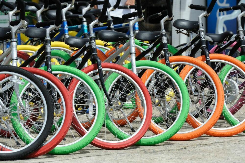 Bikes for rent in Wildwood