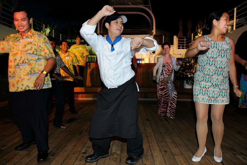 Richmond: bread baker by day, lead dancer by night.