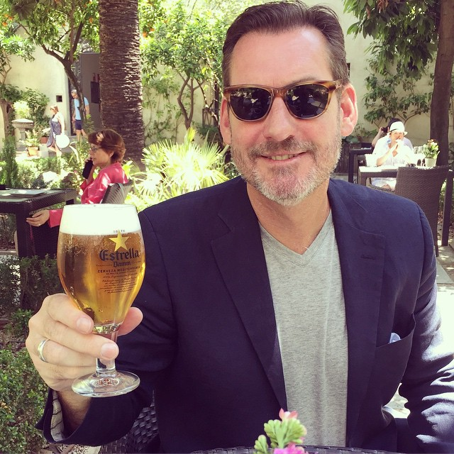 Sean Murphy, Jetsetter editor in chief, in Cordoba, Spain
