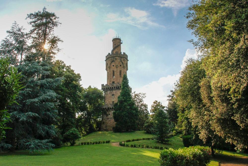 The Torrigiani Gardens, which CIU Travel got us access to.