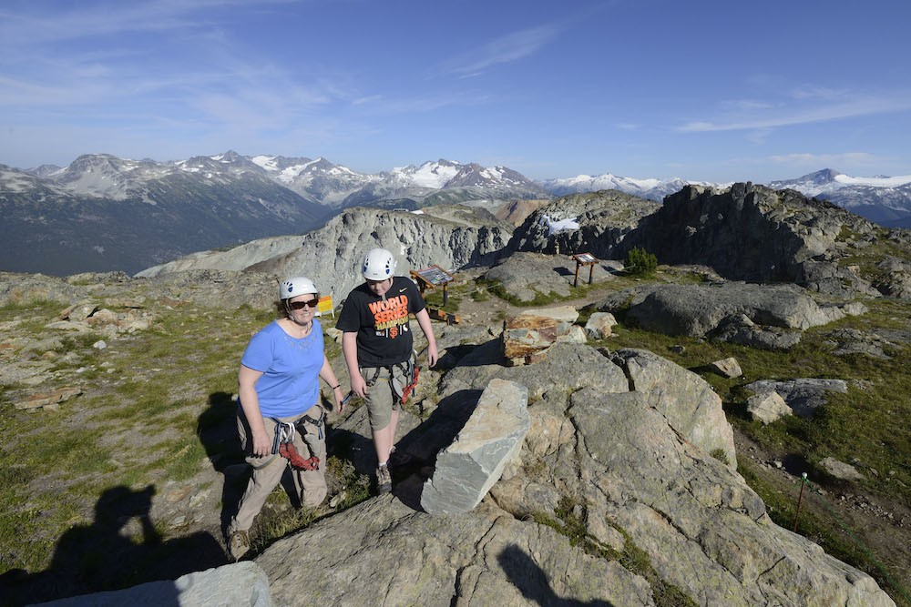 Via Ferrata whistler mountain