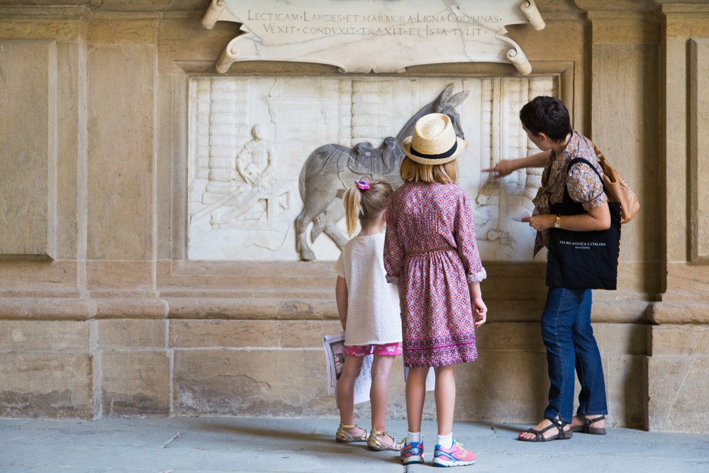 visiting Pitti Palace with kids Florence Italy