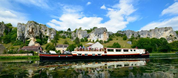 barge cruise france