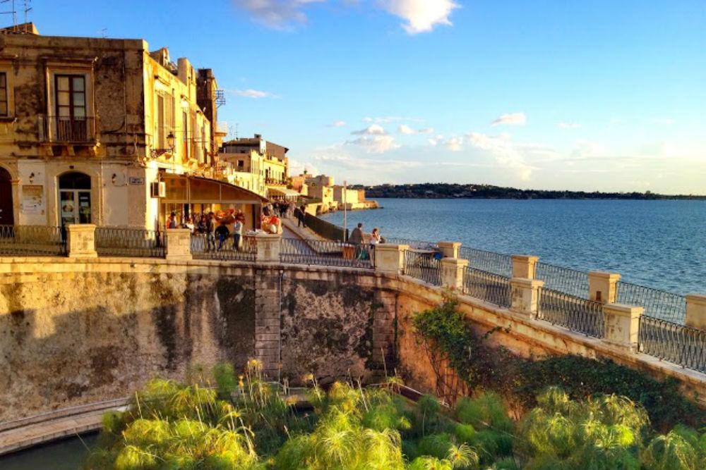 Sicilian coastline, Ortigia