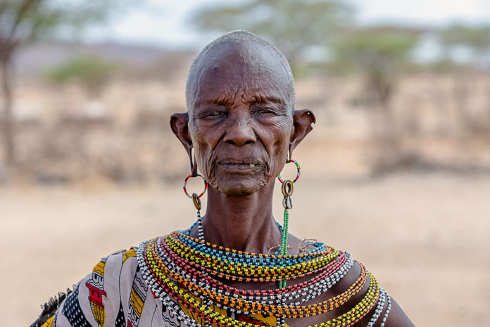 Samburu woman from northern Kenya Photo by Susan Portnoy