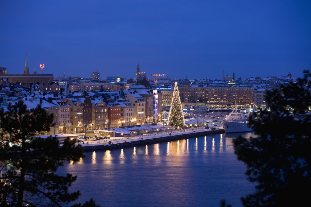 Christmas in Old Town, Stockholm, Sweden