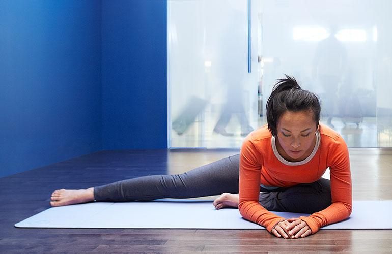 San Francisco International Airport yoga room