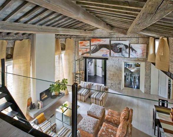 Via Lambertesca apartment rental, Florence, Italy