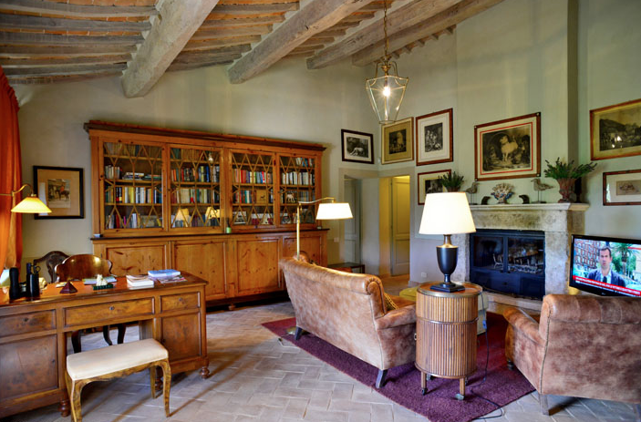 Le Ripe villa, Tuscany, Italy