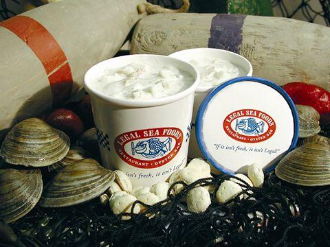 Legal Sea Foods clam chowder