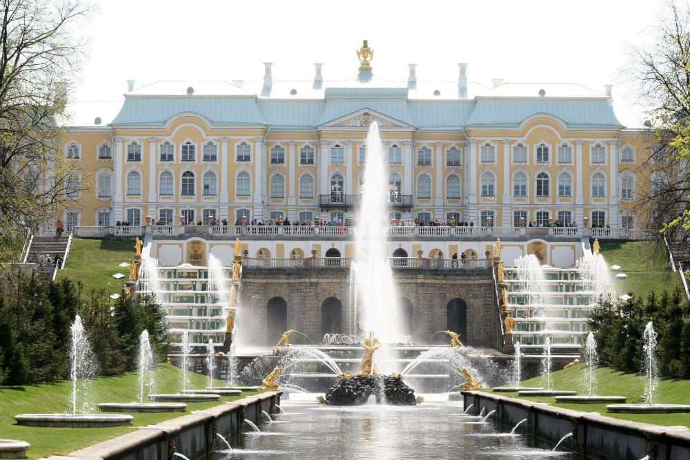 Peterhof Palace, St. Petersburg. Photo courtesy Abercrombie & Kent.