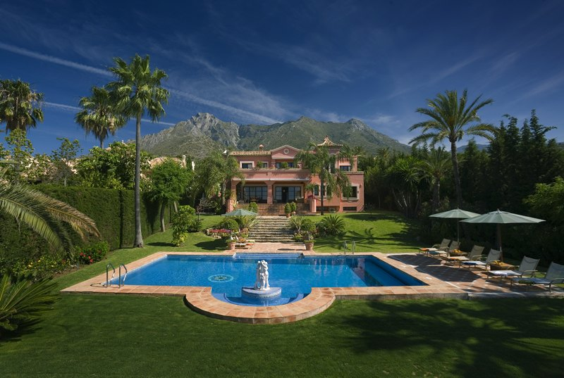 Summer House vacation rental, Marbella, Spain.
