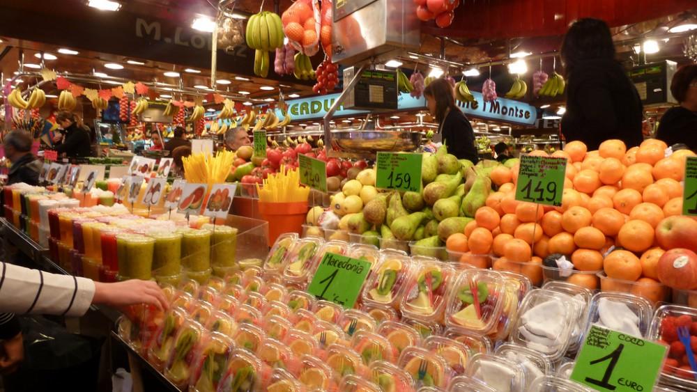 Boqueria Market, Barcelona, Spain