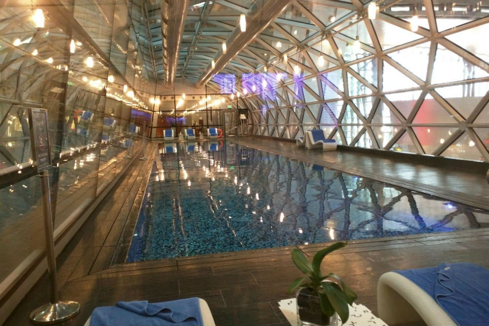 Pool at Doha Airport