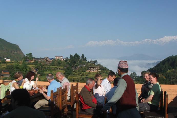 Guan Ghar resort, Bandipur, Nepal