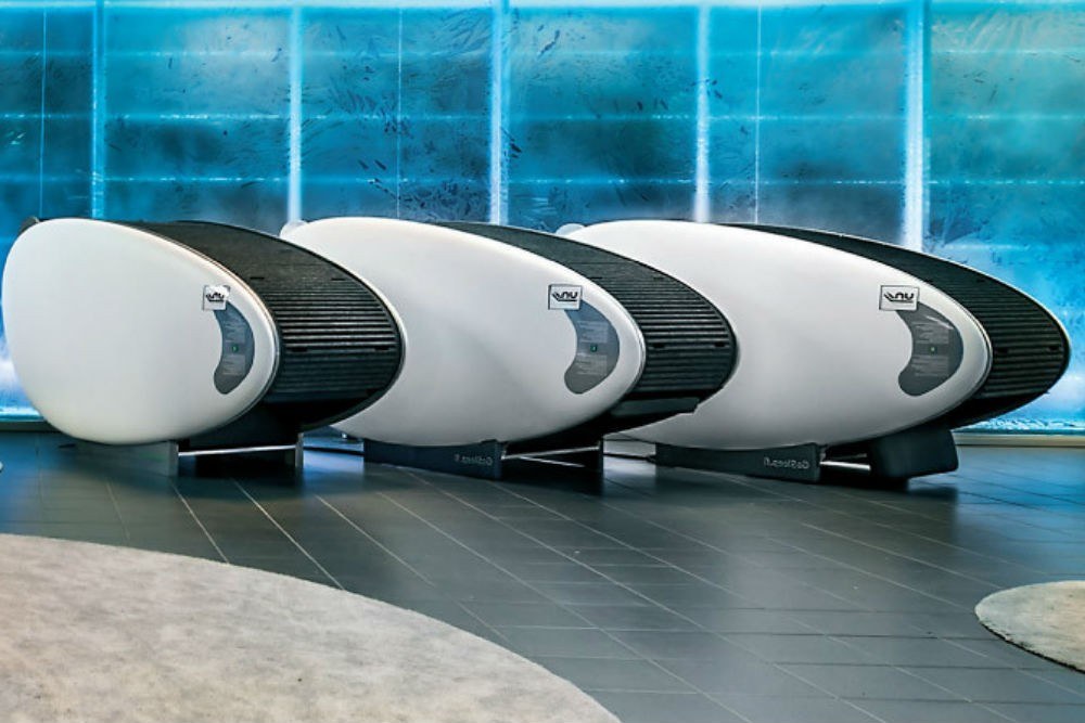 sleep pods at Helsinki airport