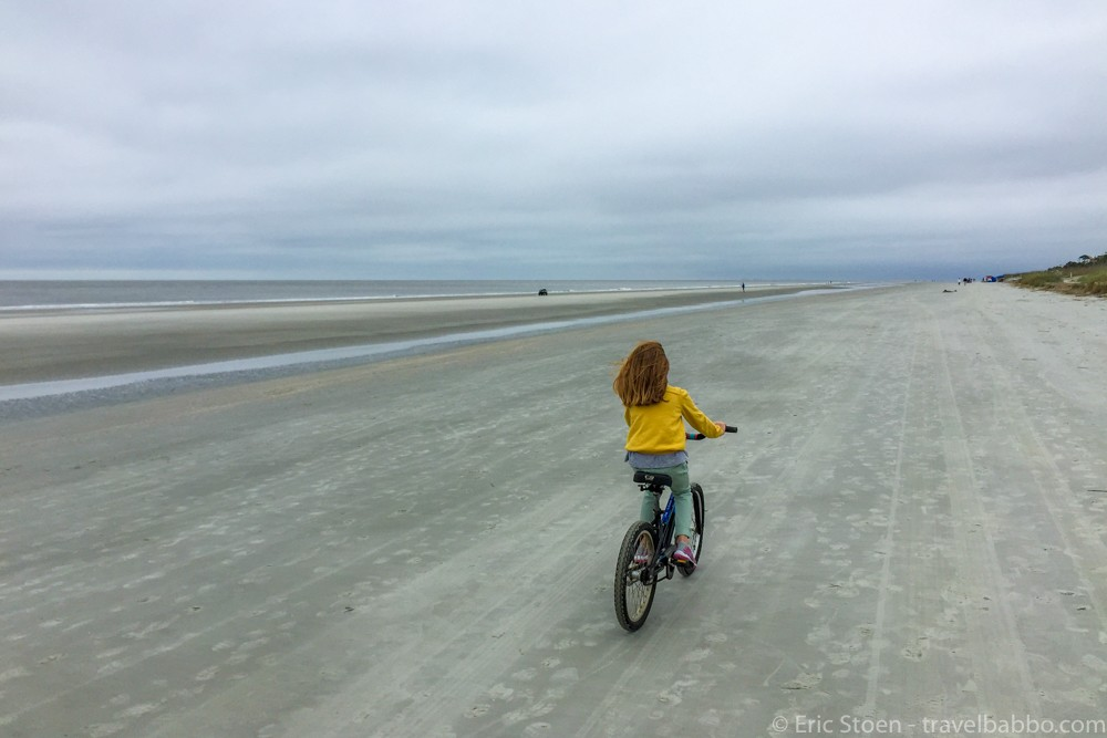A kid-sized bicycle at the Sonesta Hilton Head. by Travel Babbo
