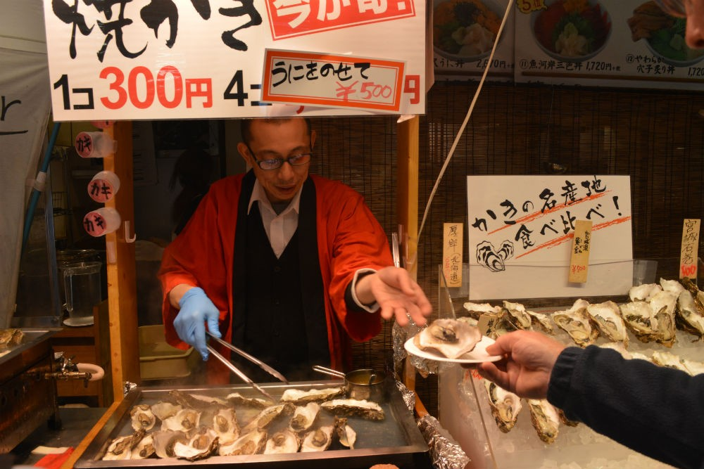 Tsukiji market, Tokyo. Photo: Context Travel