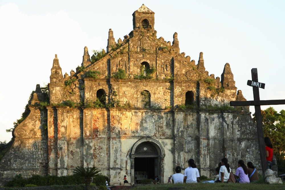 Paoay Church, Ilocos Norte Philippines