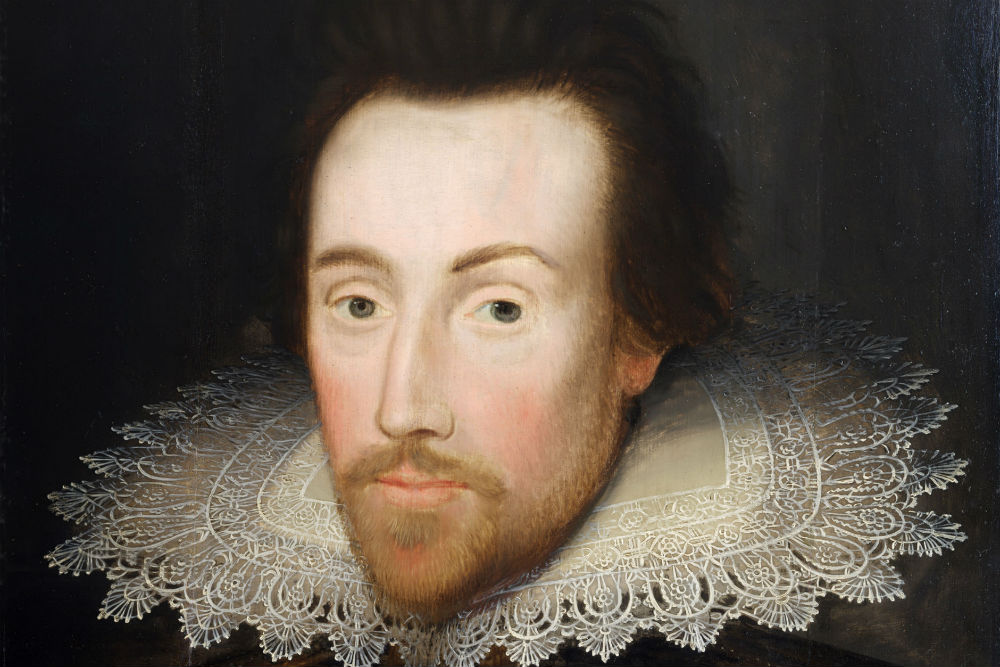 A lost copy of William Shakespeare's portrait. Photo: Shakespeare Birthplace Trust