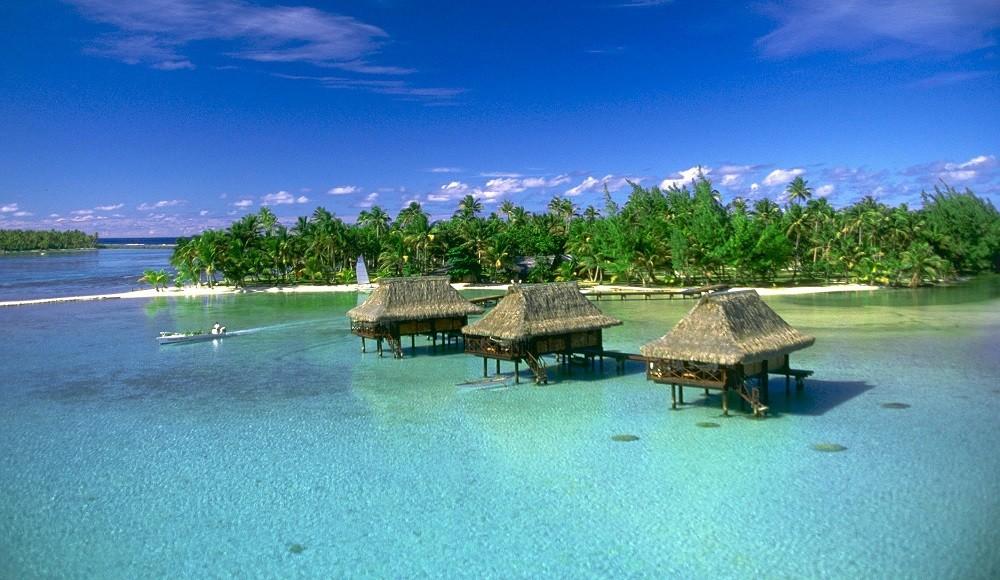 Vahine Island, Tahaa, French Polynesia